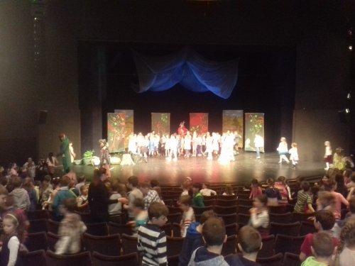 Návštěva divadla ve Zlíně