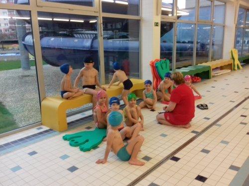 Zahájení výuky plavání