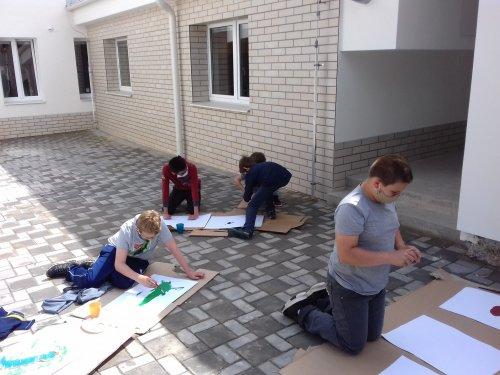 Malování venku