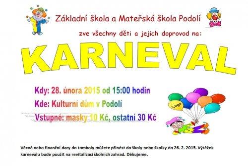Pozvánka na karneval