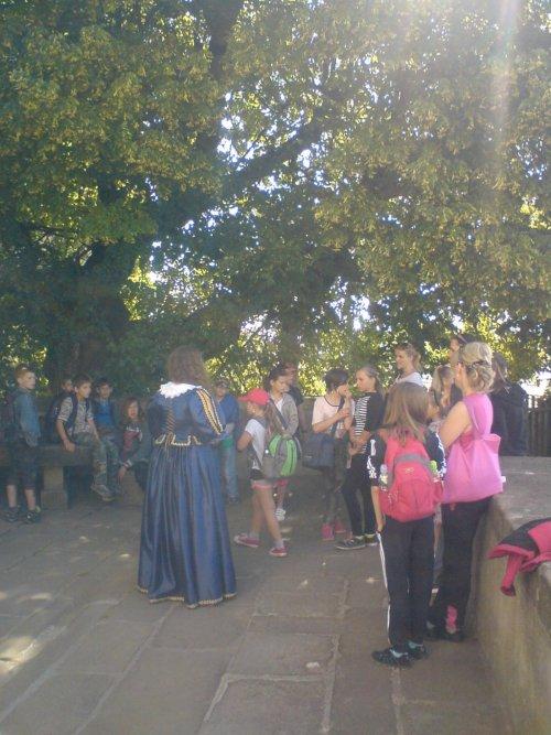 Rozloučení školáků se školním rokem na hradě Buchlově